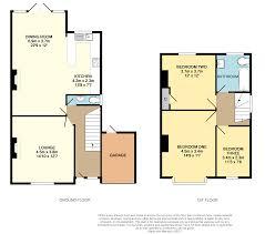 Semi Detached Floor Plans by 3 Bedroom Semi Detached House For Sale In Sandy Way Croydon Cr0 8qt
