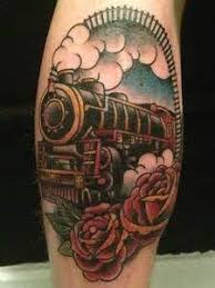 243 best train tattoo images on pinterest trains music and