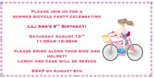 great idea for a 6 year old birthday party a bike decorating
