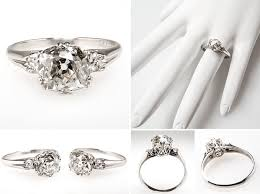wedding ring and engagement ring emerald sapphire engagement and wedding rings best