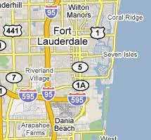 map of ft lauderdale fort lauderdale map placesaroundflorida com
