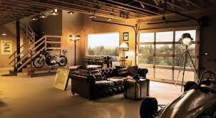 Garage Interior Ideas 50 Man Cave Garage Ideas Modern To Industrial Designs