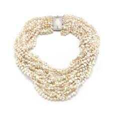vintage rock crystal necklace images Diamond necklaces vintage malibu jpg