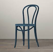 Wooden Bistro Chairs Café Stained Wood Chair Restoration Hardware Givens