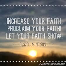 Faith Meme - let your light shine gathering families