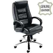 Real Leather Office Chair Avior Contemporary Executive Leather Chair Black Kf72583 Huntoffice Ie
