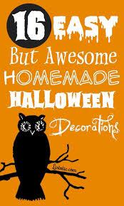 Home Halloween Decorations Extraordinary Fun And Easy Halloween Decorations 16 For Interior