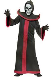 Scary Halloween Costumes Boys Morphsuits Black Msuit Funny Costumes Escapade Uk Escapade