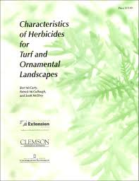 of herbicides for turf and ornamental landscapes