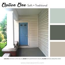 front porch exterior paint color inspiration u2014 stevie storck