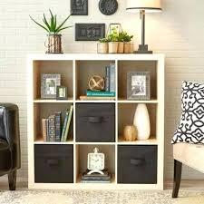 Bookcase With Baskets Cube Furniture Storage U2013 Dihuniversity Com