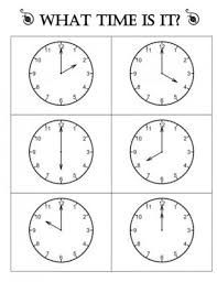 telling time half hour 18 telling time to the hour resources teach junkie
