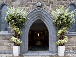wedding arches in church creating fabulous floral decorations for a church wedding neill