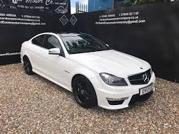 mercedes c63 amg replica used mercedes c class amg coupe cars for sale motors co uk