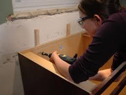 How To Hang Kitchen Cabinet Doors Custom Kitchen Cabinet Magnificent Staining Kitchen Cabinets