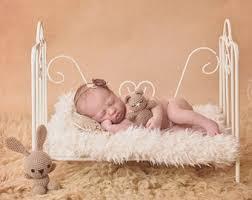 baby bed prop etsy