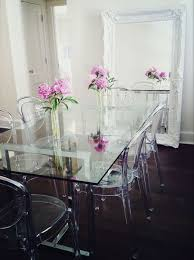Glass Topped Dining Table And Chairs 30 Ways To Incorporate A Glass Dining Table Into Your Interior