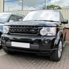 land rover black gloss black new front grille upgrade kit for land rover discovery