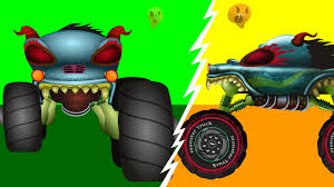 kids monster truck videos haunted house monster truck if you u0027re happy and you know it