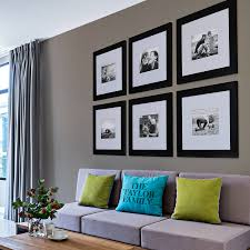 original black frame wall gallery collection of nine togg