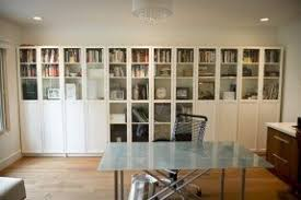 Billy Bookcase With Doors White Bookcase With Glass Doors Foter