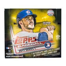 jumbo s day cards 2017 topps series 1 baseball hobby jumbo box da card world