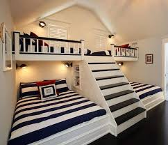 Vacation Home Design Trends by Awesome Idea For Vacation House Guest Or Kids Room 2 Double Beds