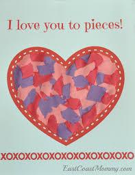 preschool valentine u0027s day craft with free printable activity sheet