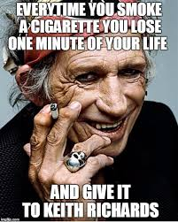 Cigarettes Meme - keith richards imgflip