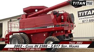 Case Ih 2388 Combine For Sale Youtube