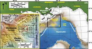 Map Gulf Of Mexico by Structural Setting And Evolution Of The Mensa And Thunder Horse