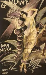 genuine 1920 directed by rober wiene starring fern andra hans