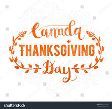 canada thanksgiving day greeting card happy stock vector 718752529