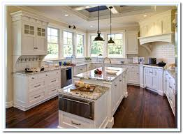 Kitchen Design Pictures White Cabinets White Cabinets With Granite Countertops Home And Cabinet Reviews