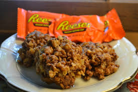 reese u0027s rice krispies treats u2013 mrs happy homemaker