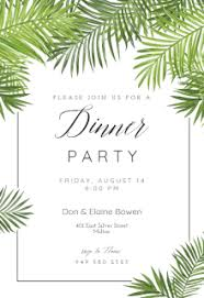 free printable dinner invitation templates greetings island
