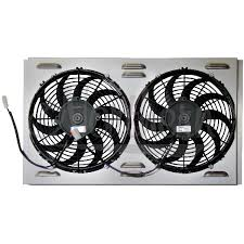 electric radiator fans and shrouds northern radiator dual 11 electric fan shroud 24 x 14 7 8 x 2 5 8