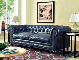 Madrid Leather Sofa by Durango Rustic Blue Leather Sofa From Tov S38 Coleman Furniture