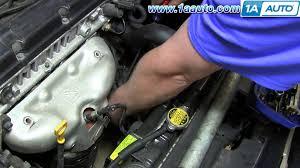 how to install replace upstream o2 oxygen sensor 2004 08 hyundai