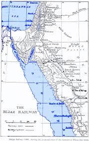 Raven Maps Nabataea Maps Of The Hejaz Railway