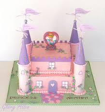 some cool princess castle themed cakes princess castle cakes