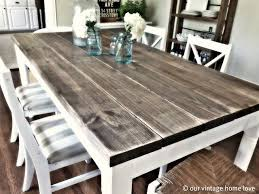 Build A Wooden Table Top by Best 25 Dining Table Makeover Ideas On Pinterest Dining Table