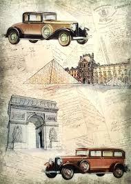 Brocante Vintage Paris 11 Rice Paper For Decoupage Decopatch Scrapbooking Sheet Craft