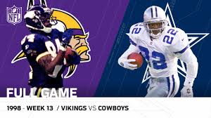 why does dallas play every thanksgiving randy moss u0026 vikings torch the cowboys thanksgiving 1998 nfl