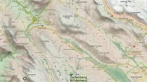 Drakensberg Mountains Map Slingsby Maps