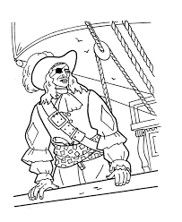 inspirational pirate coloring page 26 with additional coloring for