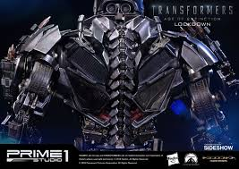 transformers hound weapons transformers lockdown polystone statue by prime 1 studio