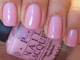light sheer pink nail polish