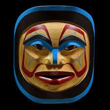 moon mask winter moon mask by p wilson haisla artist x110701