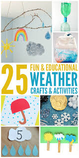 25 fun weather activities and crafts weather activities weather